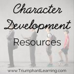 Character Development Resource Suggestions