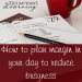 Learn five strategies to plan margin in your day to combat busyness.
