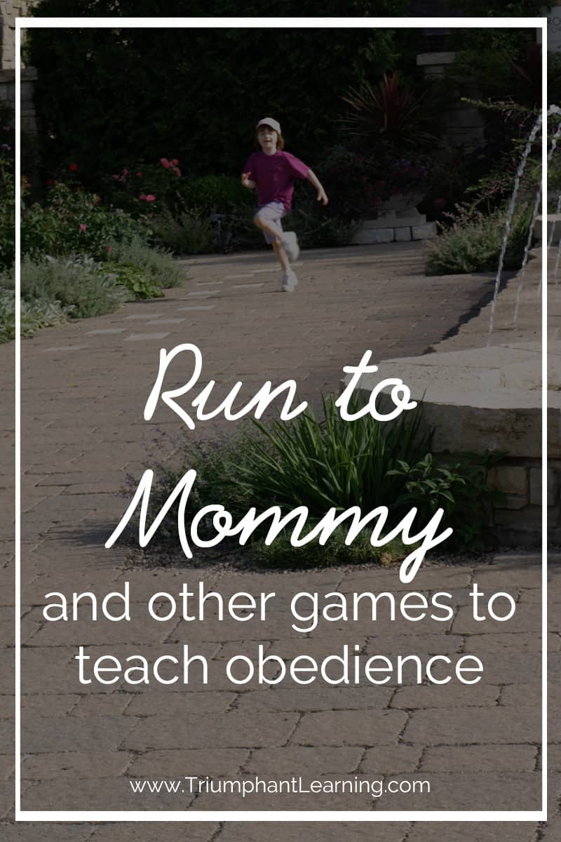There are times you need to discipline your child for him to learn to obey you. The majority of the time though, I use games as a way to teach my children to obey since games make it fun to learn obedience. Check out these fun games to help your child learn to obey.