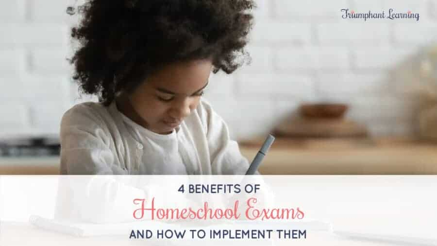 Exams are an important evaluation tool in your home educator toolkit. Learn why you should use homeschool exams and how to implement them.