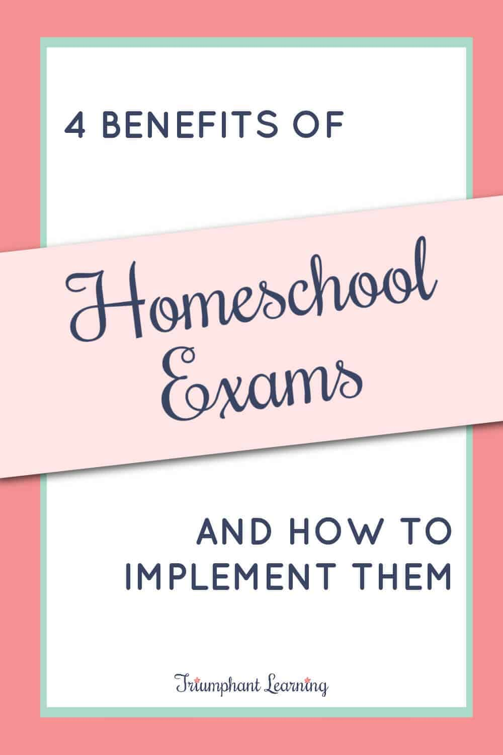Exams are an important evaluation tool in your home educator toolkit. Learn why you should use homeschool exams and how to implement them. via @TriLearning