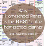 The Best Online Homeschool Planner
