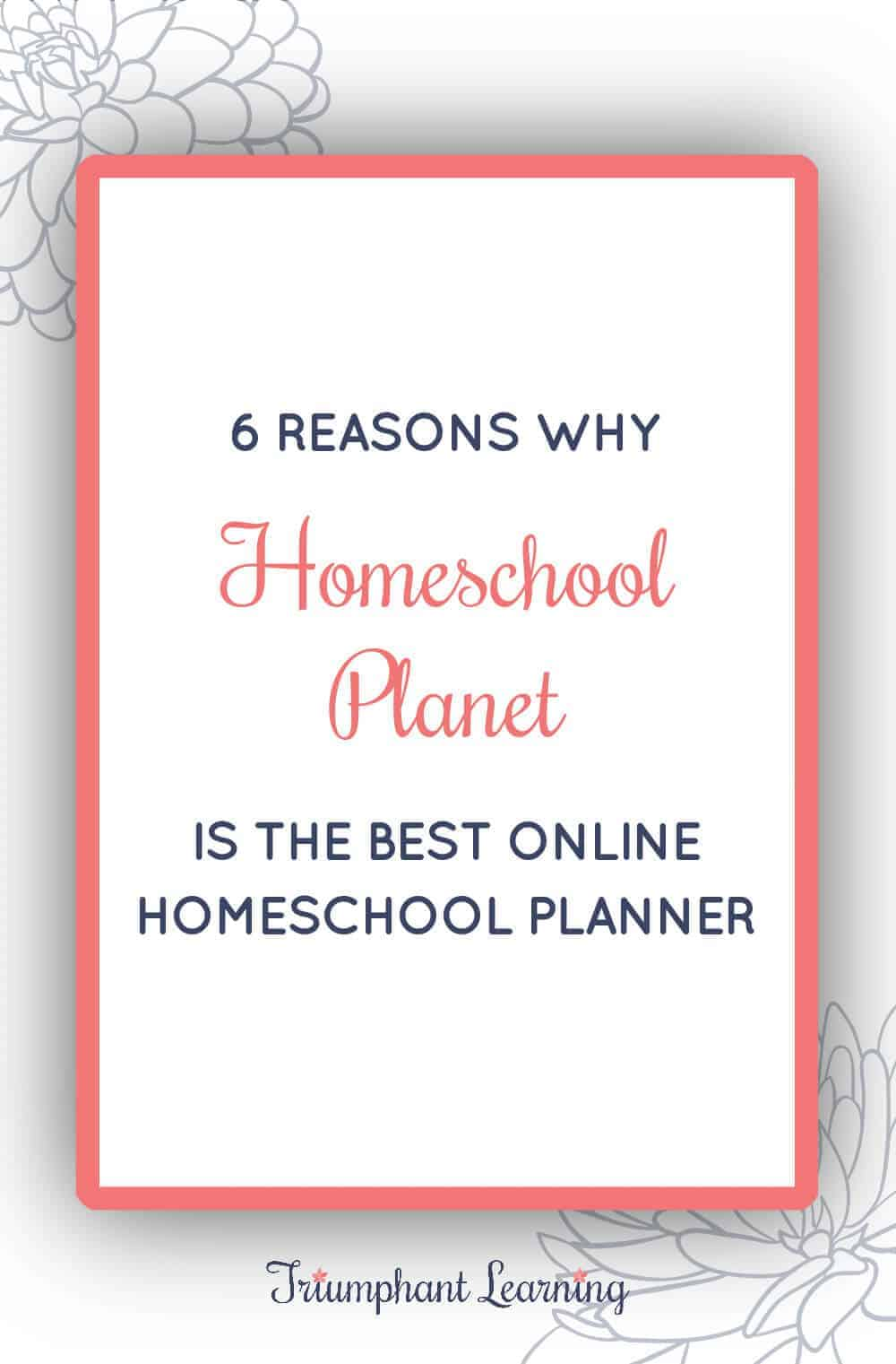 Homeschool Planet exceeded my demanding expectations. Find out why it is the best online homeschool planner. Plus watch a video review. via @TriLearning