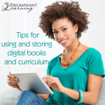 How do you store and use digital curriculum so it doesn't get lost and forgotten?