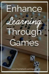 Add variety and enhance your student's learning with these game suggestions.