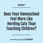 AHD 007: Does Your Homeschool Feel More Like Herding Cats Than Teaching Children?
