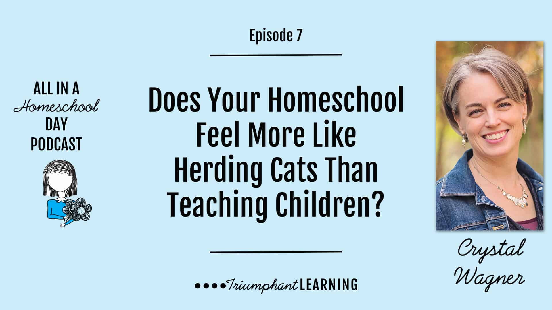 It's difficult to accomplish anything in your homeschool when it feels like you are herding cats and no one is heading in the right direction. In this episode, you will hear about six things that help our homeschool stay on track.