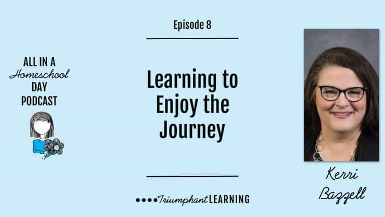 Learning to Enjoy the Journey with Kerri Bazzell