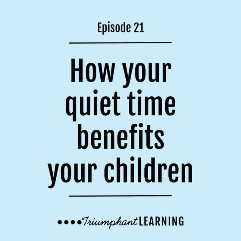 AHD021: How your quiet time benefits your children with Latoya Edwards