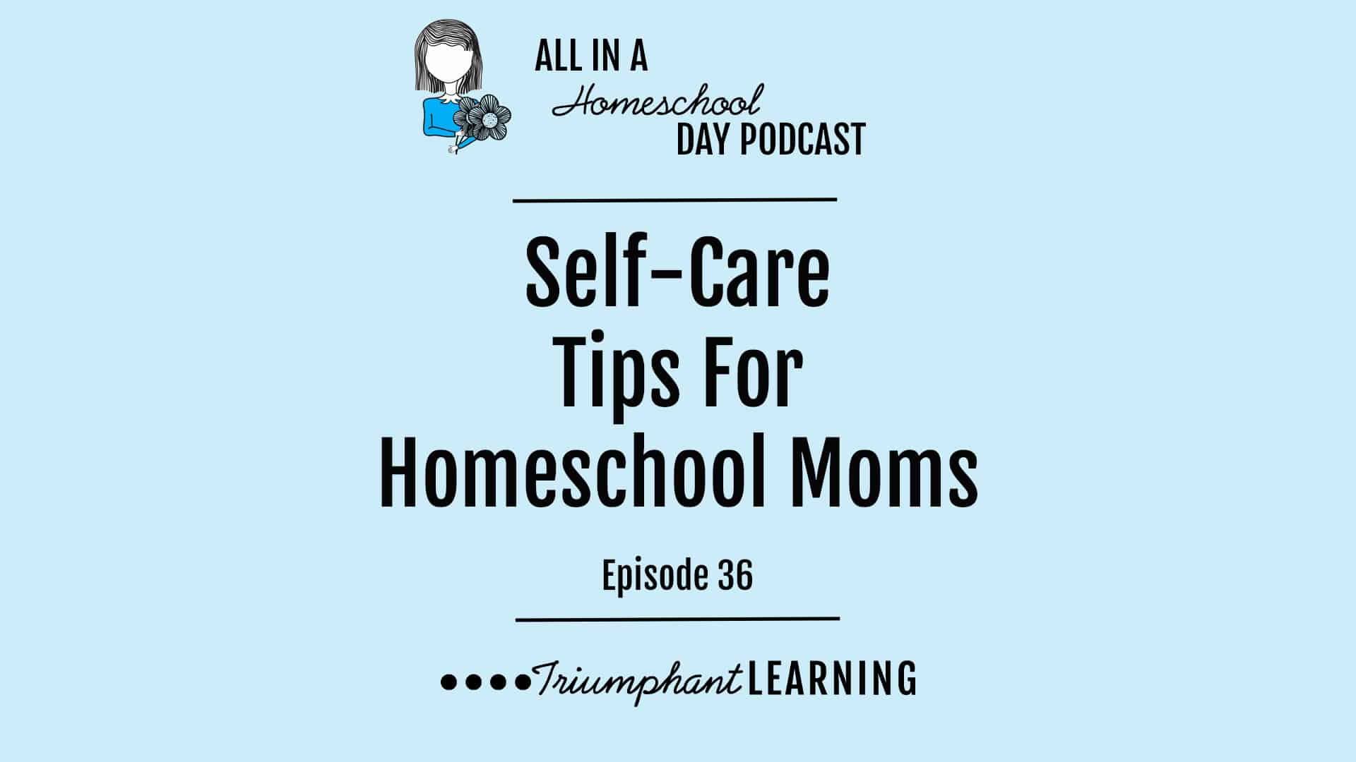 I'm sure you've heard it before: Take care of yourself before taking care of others. It really is important for us to put our self-care as a priority in our lives and it is not selfish to focus on your needs. When you take care of yourself, you will have more energy and a better mood to take care of your family. In this episode, we will explore practical suggestions for four areas homeschool moms often struggle with to take care of themselves: sleep, exercise, healthy eating, and finding joy.