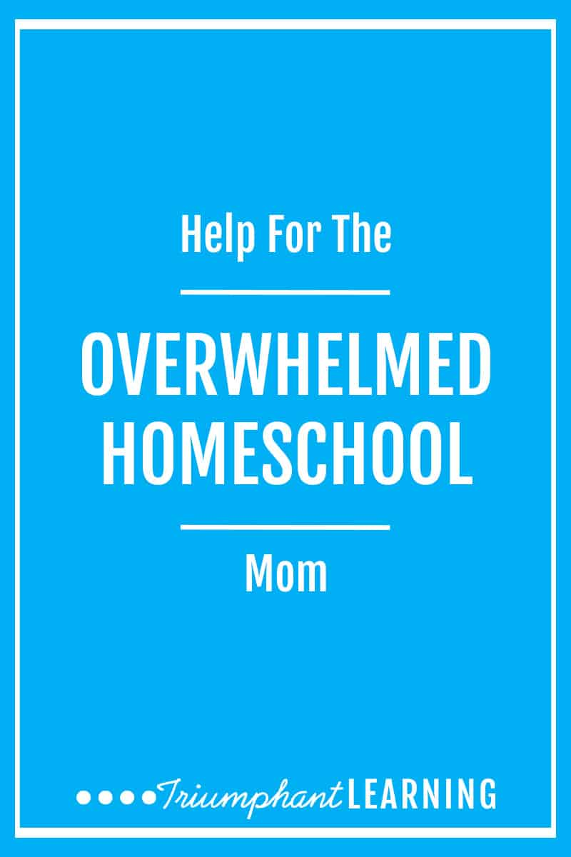 "As moms, we have a lot of responsibilities. And when you add homeschooling on top of that, it can be overwhelming. So how do we get it all done? Learn how you can overcome overwhelm and feel successful at the end of the day in ""Help For The Overwhelmed Homeschool Mom"" is a podcast series. via @TriLearning"