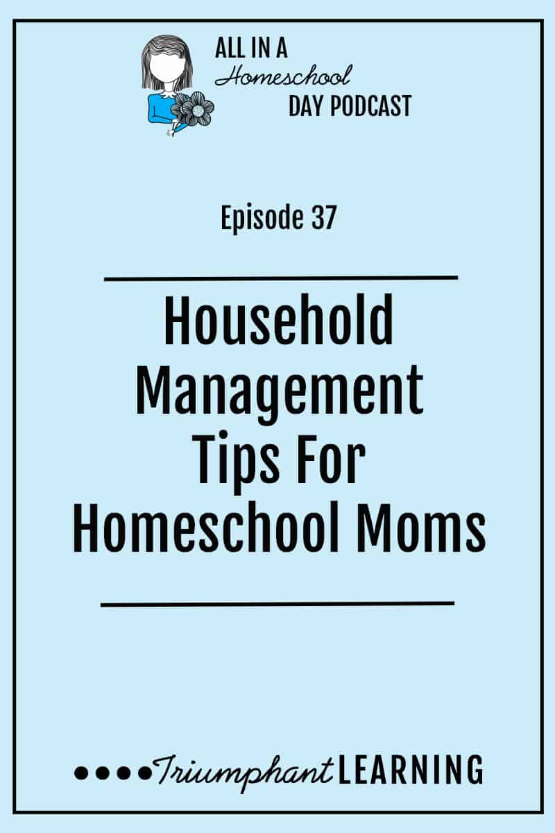 It takes a lot to keep a household running smoothly, especially when you live and school in your home! These four principles help me stay on top of my household responsibilities.