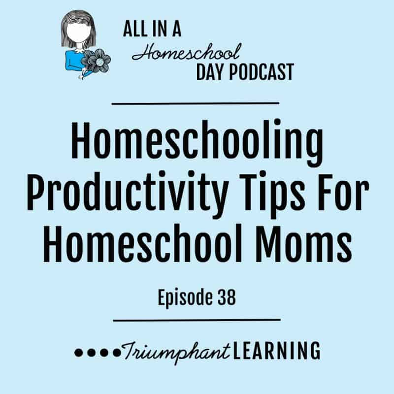 Homeschooling Productivity Tips For Homeschool Moms