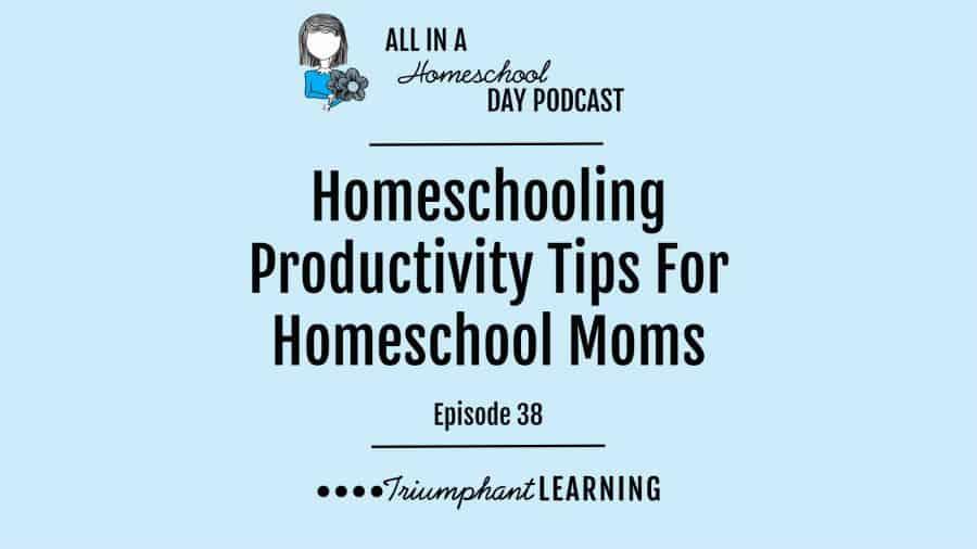 Homeschooling Productivity Tips For Homeschool Moms
