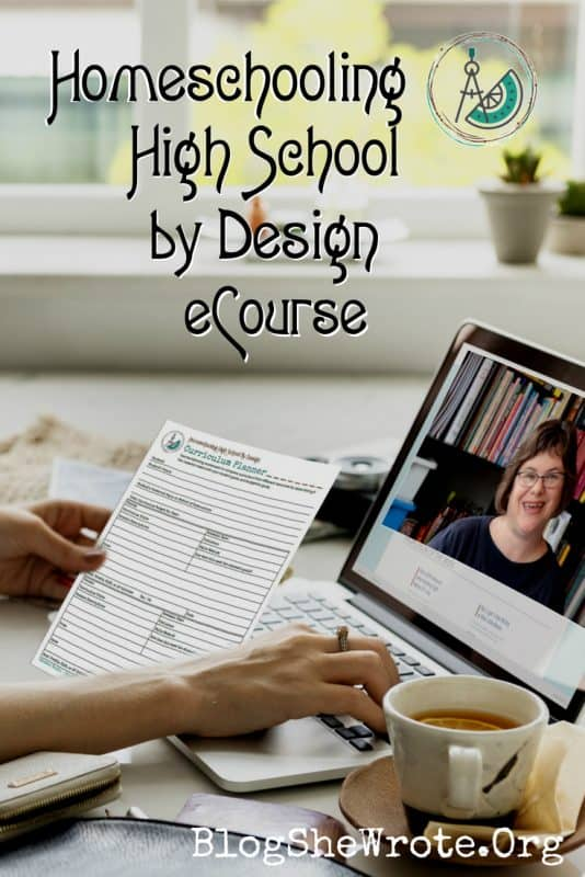Homeschooling High School by Design Online Course