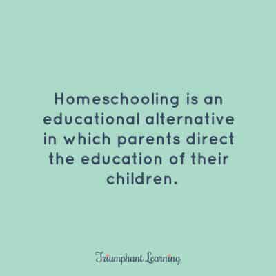 Homeschooling is an educational alternative in which parents direct the education of their children.
