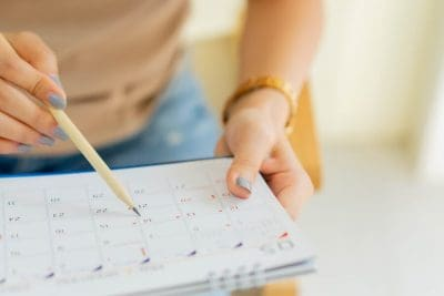 Your homeschool calendar should complement your life instead of adding stress. Learn about different homeschool calendar options, how to break your school year into terms, factors to consider when determining your homeschool calendar, and how to create your homeschool calendar so it works for your family.