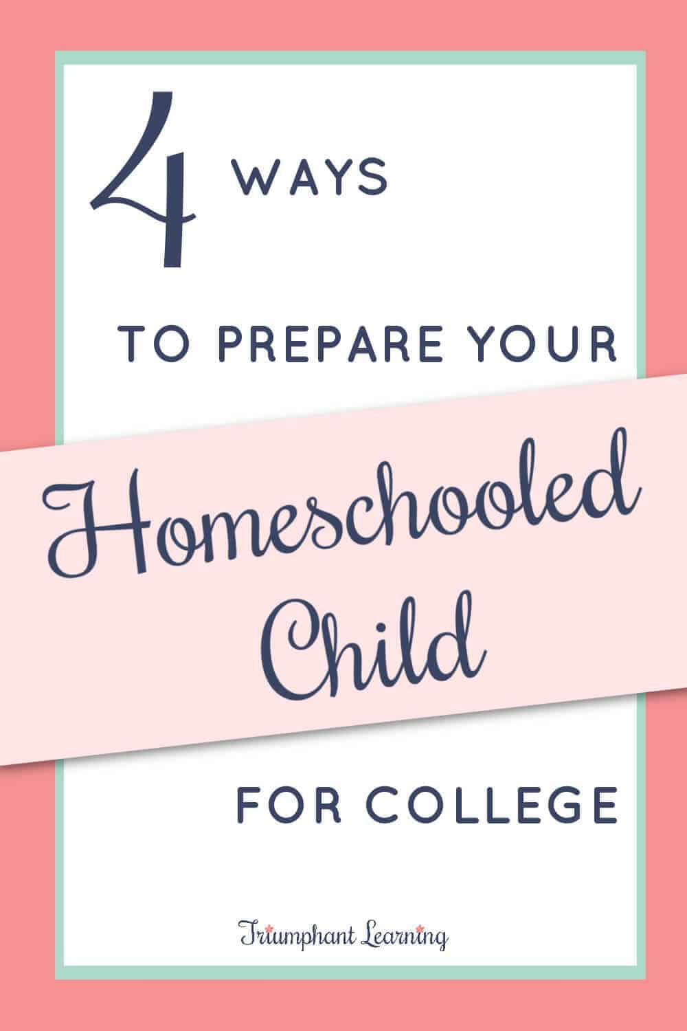 Is your homeschooled child ready for college? Learn the four skills every student should acquire to be successful in their future career. via @TriLearning