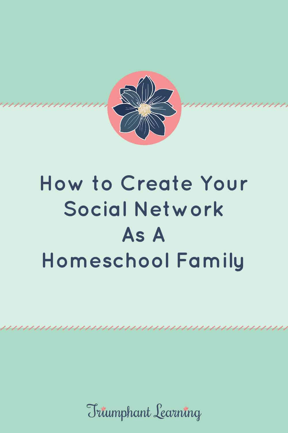 Learn about the benefits and challenges of homeschool socialization and ways you can create your social network as a homeschool family. via @TriLearning