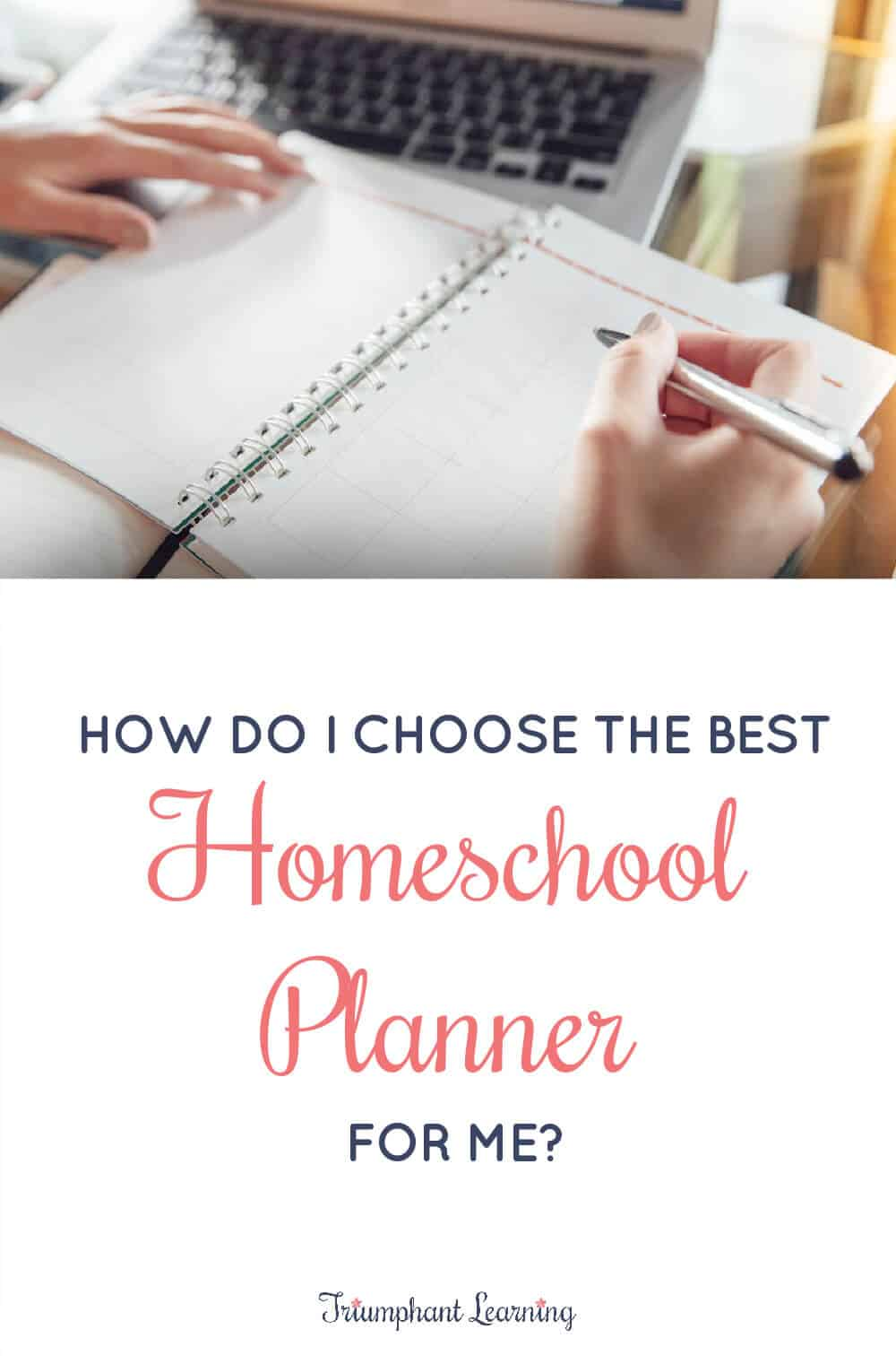 There's not a one-size fits all solution, but these questions will help you decide which homeschool planner is right for you. via @TriLearning