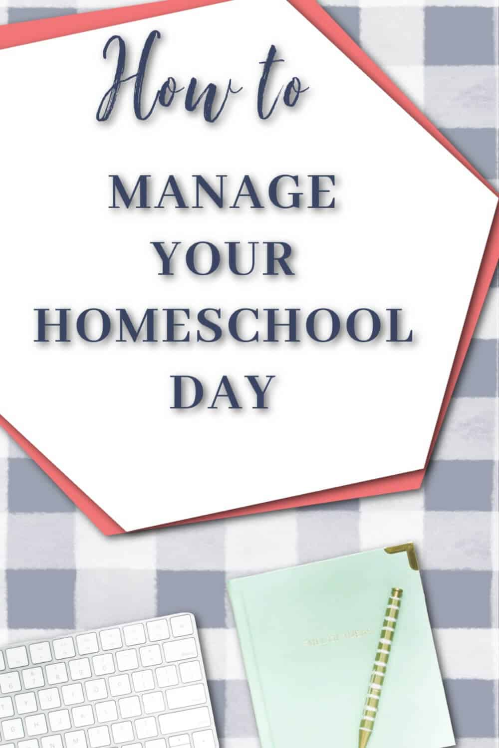 Finally, take control of your homeschool days. Learn five simple strategies to help you manage the demands of being a homeschool parent. via @TriLearning