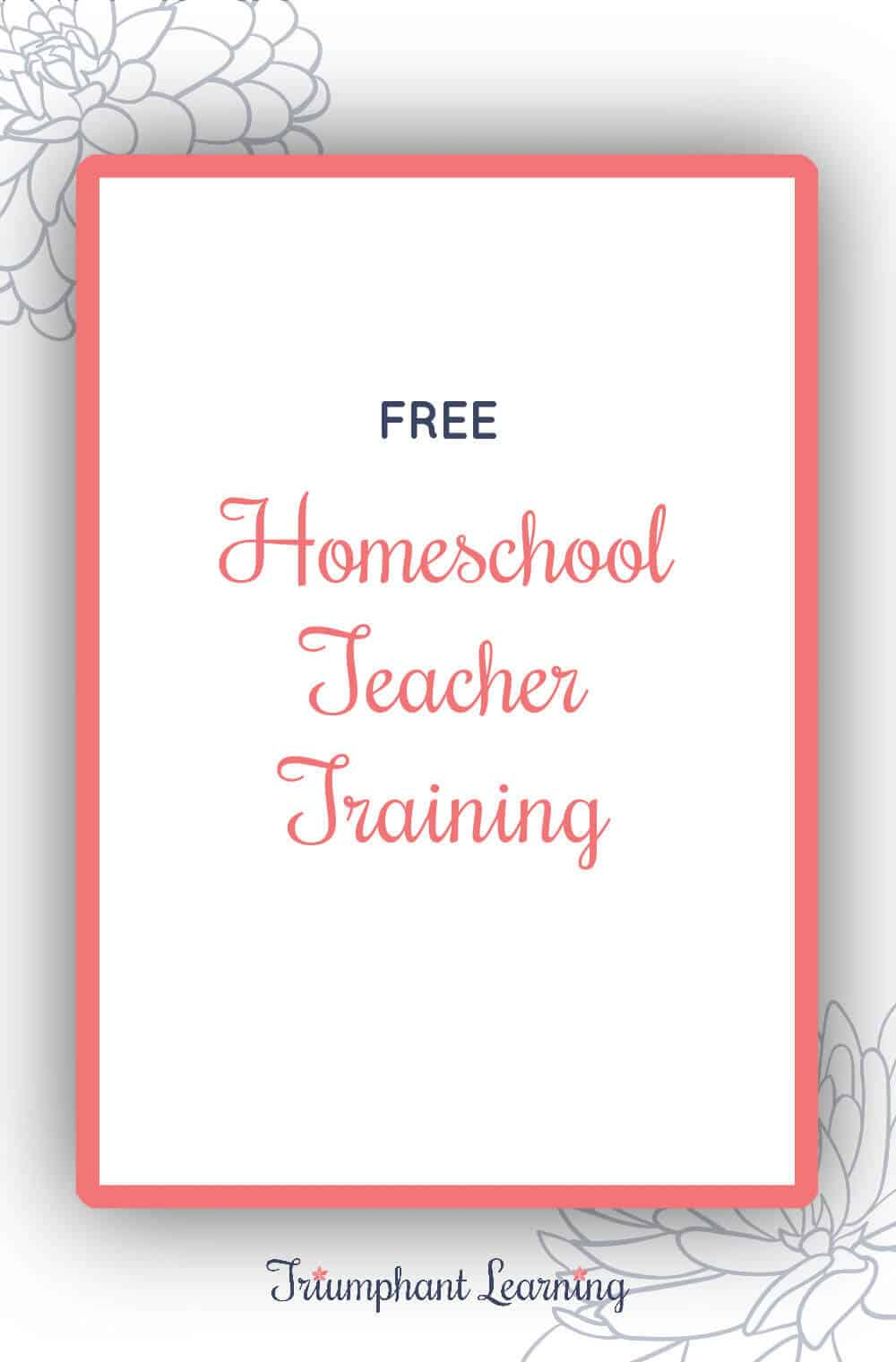 Join us for a free master class and increase your confidence and skills as a homeschool teacher. Attend live or watch the replay. via @TriLearning